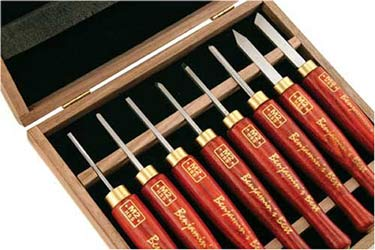 PSI-Woodworking-LCAN8MD-HSS-Micro-Detailing-Anniversary-Lathe-Chisel-Set-8-Piece