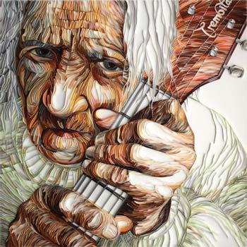 Babushka image quilled creations by yulia brodskaya