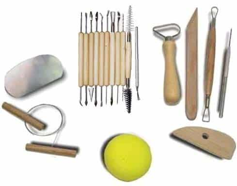 DY3S-19-Piece-Pottery clay Tools