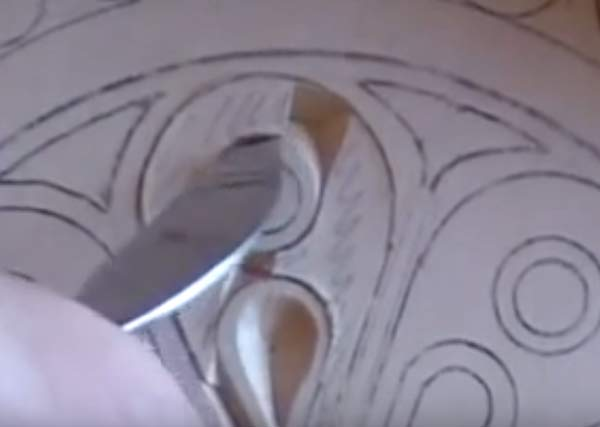 chip cutting after marking out image
