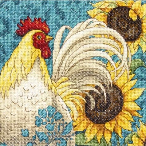 dimensions-rooster-cross-stitch-patterns
