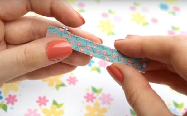 hair clip washy tape ideas image
