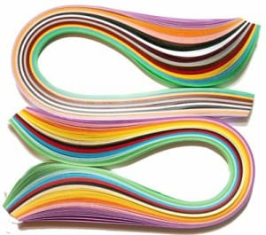 quilling supplies paper