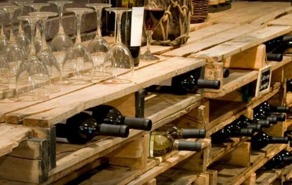 pallets-recycle-into-wine-celler-racking