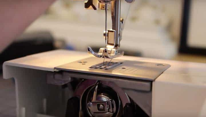 singer sewing machine needle set up threading