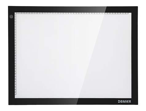 dbmier a2 led ultra thin light tracer artcraft tracing light pad light box 12 60 x 20