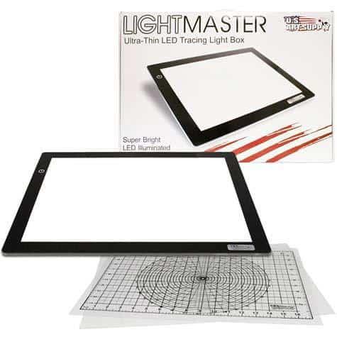 usa art supply lightmaster light box