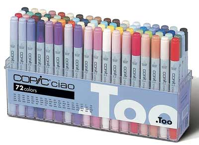 best markers for coloring copic pens