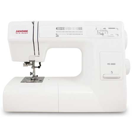 Janome HD3000 best Heavy Duty Sewing Machine