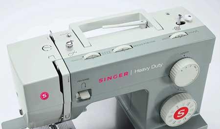 singer 4411 best heavy duty sewing machine side view