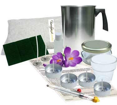 best scents for candle making kit
