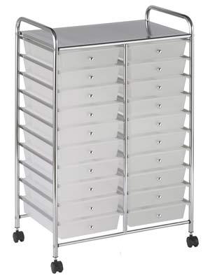 ECR4Kids studio organizer art storage drawers on wheels