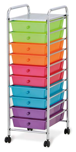 Invest in an artist taboret - craft storage carts with