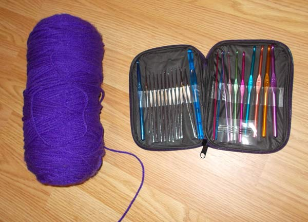 crochet supplies kit image