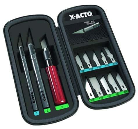 ELMERS-X-Acto-13-Blades-in-Zippered-Storage-Case