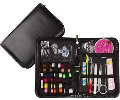 Professional Sewing project Kit With Leather Case