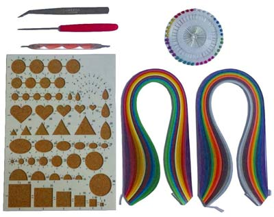 Quilling-supplies-Kits-Collection-with-Colors...