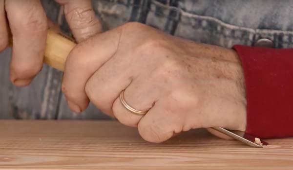 basic gouge chisel cuts image
