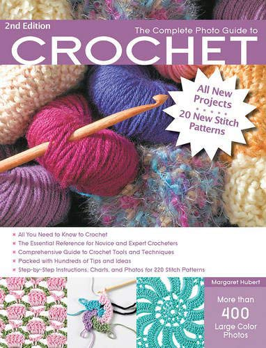 complete photo guide how to crochet books