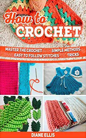 how to crochet books