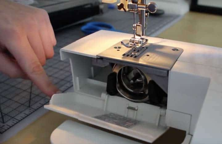 how to set up a singer simple sewing machine