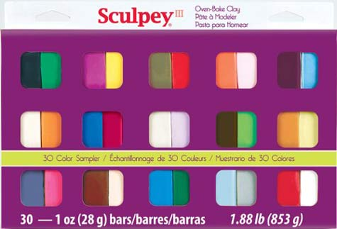 Sculpey-III-S3-30-1-Oven-Bake-Clay-Sampler