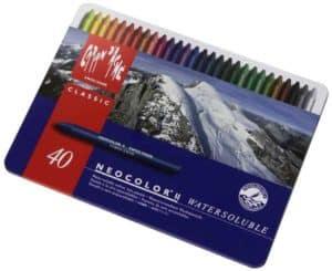 caran-dache-40 colored pencils
