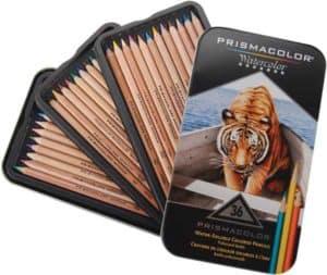 prismacolor 36 watercolor pencils