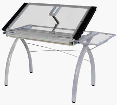 Studio-Designs-10096-Futura-Craft-Station-with-Folding-Shelf