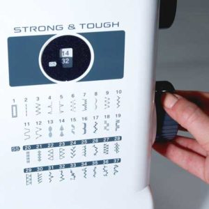 Brother ST371HD heavy duty sewing machine stitch controls