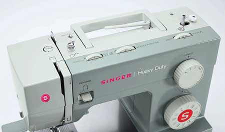 singer 4411 best heavy duty sewing machine side view