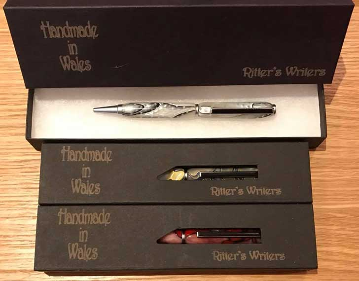 Hand Crafted Pens and Pencils