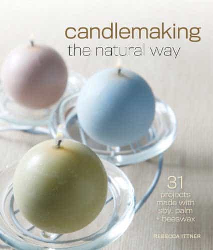 candle making the natural way make candles for less with soy palm and beeswax