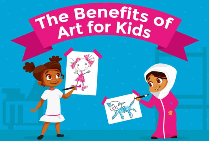 benefits of art for kids