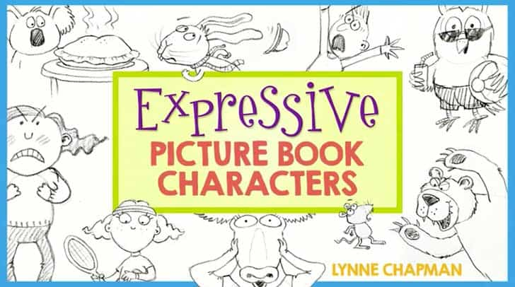 expressive picture book characters lynne chapman
