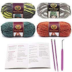 crafting hobbies - knitting crochet starter kit